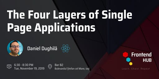 The four layers of Single page applications