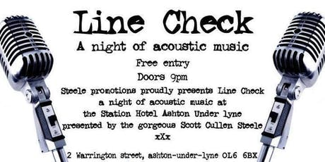WSO XMAS Line Check Acoustic Open Mic Night tickets