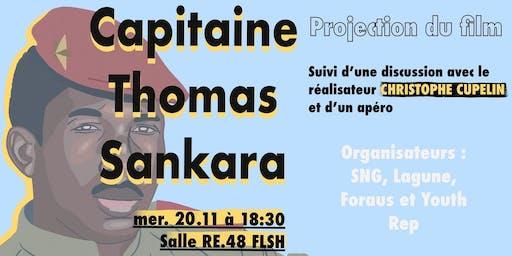 "Projection du film ""Capitaine Thomas Sankara"""