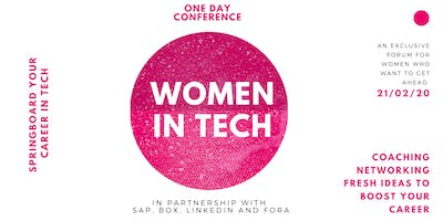 Women in Tech Conference: Springboard your Career