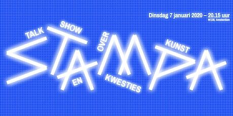 Stampa #12 - Talkshow over kunst en kwesties tickets