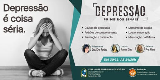 Palestra  Depressão  - Primeiros Sinais