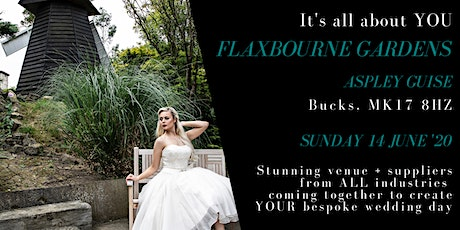 Wedding show & open day - Flaxbourne Gardens, Milton Keynes tickets