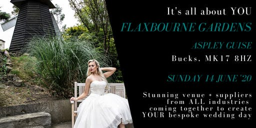 Wedding show & open day - Flaxbourne Gardens, Milton Keynes