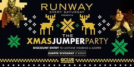 Runway Presents The Xmas Jumper Party! tickets
