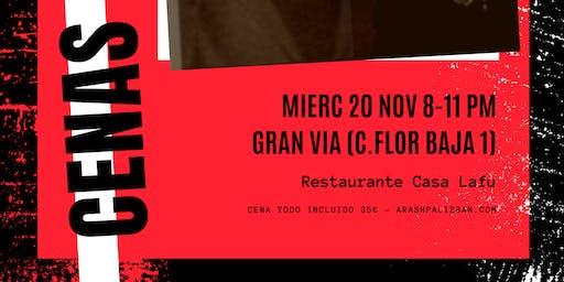 Cenas ENTOURAGE: 20 Nov 20.00