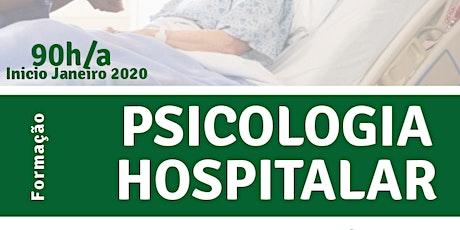 Formação em Psicologia Hospitalar T2 ingressos