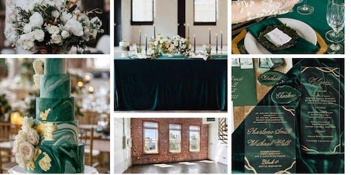 Emerald Wedding Styled Shoot