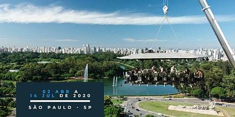 18/06/2020 | Dinner in the Sky Brasil ingressos