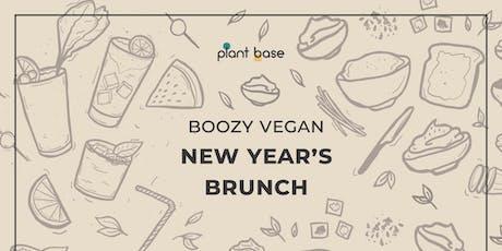 Boozy New Year's Brunch - VEGAN tickets