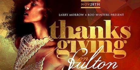 Thanksgiving On Fulton @ Apres tickets