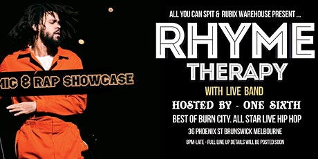 Rhyme Therapy tickets