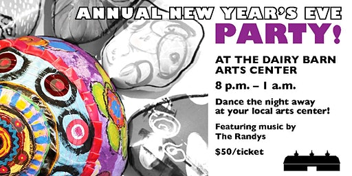New Year's Eve at The Dairy Barn Arts Center