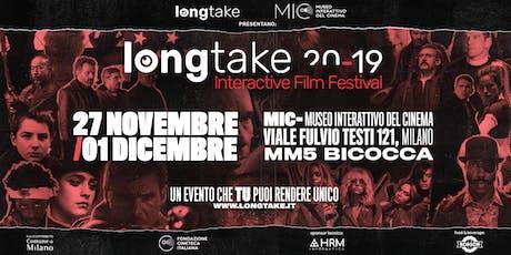 LongTake Interactive Film Festival 2019 - Abbonamenti biglietti
