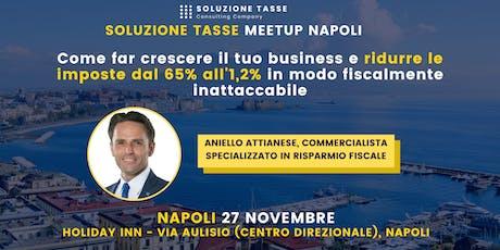 Soluzione Tasse MeetUp - Napoli biglietti