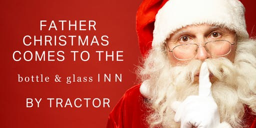 Father Christmas  comes to the Bottle & Glass Inn
