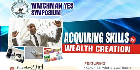Watchman YES Symposium 2019. tickets