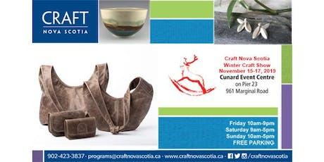 Craft Nova Scotia - Winter Craft Show 2019 tickets