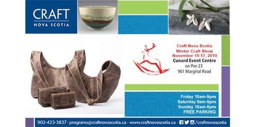 Craft Nova Scotia - Winter Craft Show 2019