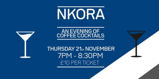 An evening of coffee cocktails at Nkora St Albans