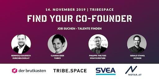 Find Your Co-Founder - Wo Talente zusammen finden