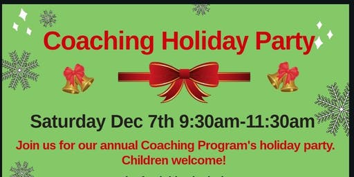 Coaching Holiday Party