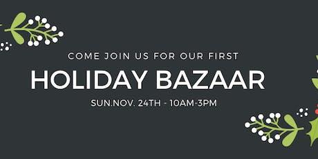 Holiday Bazaar tickets