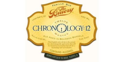 The Bruery Chronology Tasting
