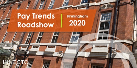 Pay Trends Roadshow 2020 | Birmingham tickets
