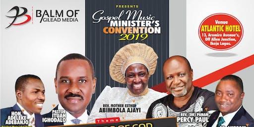 GOSPEL MUSIC MINISTER CONVENTION 2019