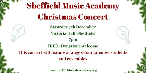Sheffield Music Academy Christmas Concert