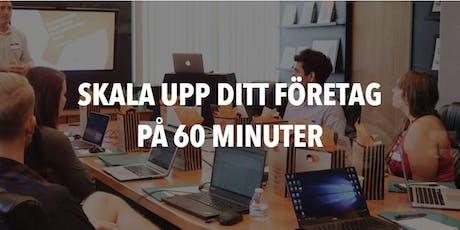 Agneta Olsson: Framgångsrikare företag på 60 minuter tickets