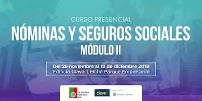 Curso: Nóminas y Seguros Sociales MODULO II