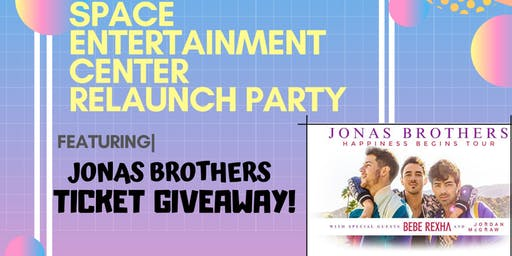 Relaunch Party with Jonas Brothers Ticket Giveway