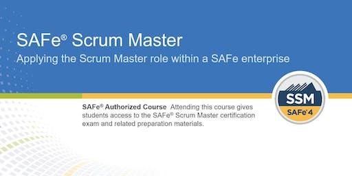 SAFe® Scrum Master 4.6 Training with SSM Certification (WILL RUN) - Atlanta