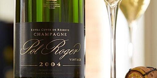 Champagne Pol Roger Dinner