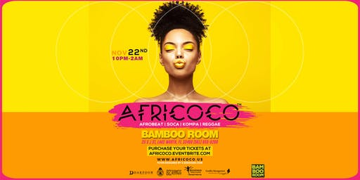 Africoco @Bamboo Room