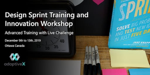 Design Sprint Training and Innovation Workshop