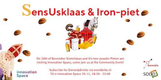 innoSpace Community Event: SensUsklaas & Iron-Piet