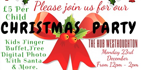 Christmas Party At The Hub tickets