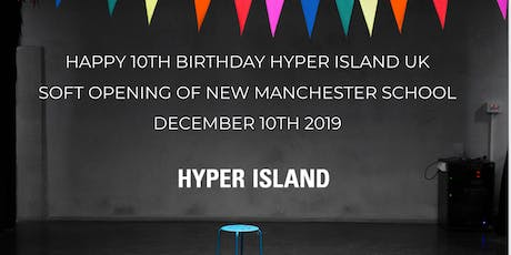 Hyper Island UK is Ten on The 10th! Join us for the soft opening of our new Manchester studio!  tickets
