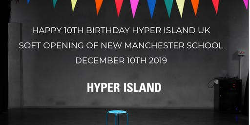 Hyper Island UK is Ten on The 10th! Join us for the soft opening of our new Manchester studio!
