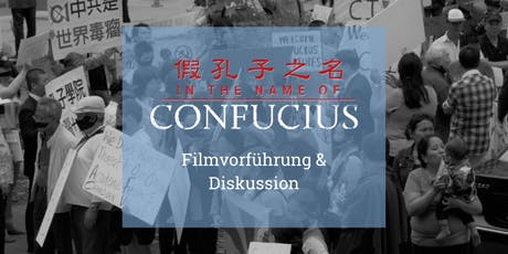 In the Name of Confucius (OmU): Filmpremiere & Diskussion tickets
