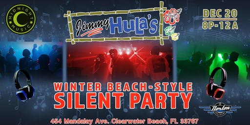 Winter Beach-Style Silent Party