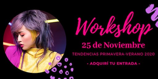 WORKSHOP NOUVELLE TENDENCIAS 2020