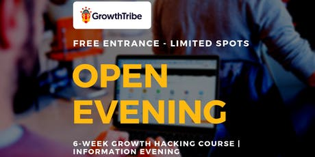 6-Week Growth Hacking Course | Information Evening (12th Dec) tickets