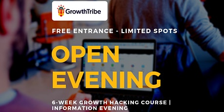 6-Week Growth Hacking Course | Information Evening  tickets