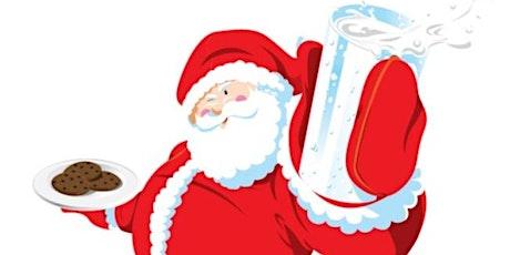 Cookies & Milk with Santa entradas