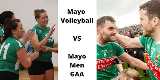Mayo Volleyball V Mayo Men's Gaelic Football Friendly