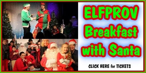 Breakfast with Santa ELFPROV Times Square NYC